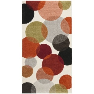 Safavieh Porcello Contemporary Bubbles Ivory Rug (2'7 x 5')