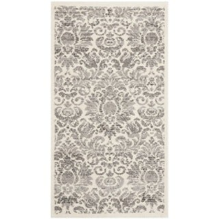 Safavieh Porcello Damask Grey/ Ivory Rug (2' x 3'7)