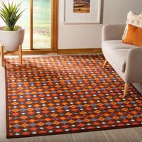 "Safavieh Metropolis Diamonds Brown Rug - 5'3"" x 7'11"""