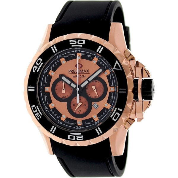 Precimax Men's Carbon Pro Sport Watch with Quartz Movement