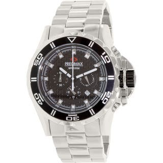 Precimax Men's Carbon Pro Stainless Steel Watch|https://ak1.ostkcdn.com/images/products/7179622/P14668337.jpg?impolicy=medium