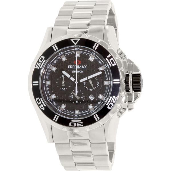 Precimax Men's Carbon Pro Stainless Steel Watch