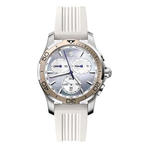 Victorinox Swiss Army Women's Alliance Sport Chrono Purple Mother Of Pearl Dial Watch