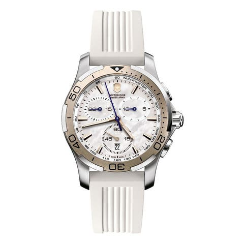 Swiss Army Women's Alliance Sport Chrono Mother Of Pearl Dial Watch