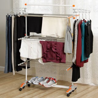 Badoogi Foldable Heavy Duty and Compact Storage Drying Rack System