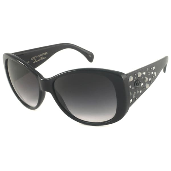 Juicy Couture Women's 'Rich Girl' Rectangular Sunglasses