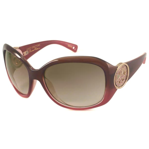 Juicy Couture Women's 'BFF Strass' Wrap Sunglasses