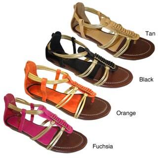 Carrini Women's Sliver Wedge Sandals