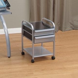 Studio Designs Futura/ Vision Silver/ Blue Glass 2-drawer Organizer