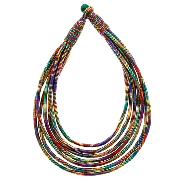 Rainbow Multi-strand Necklace (India)