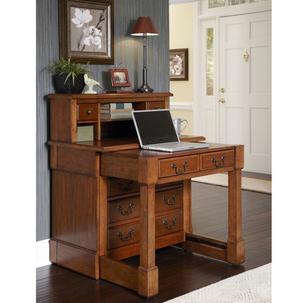 The Aspen Collection Expanding Desk With Hutch Free