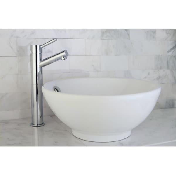 Chrome Faucet/ Vitreous China Sink /Faucet Set