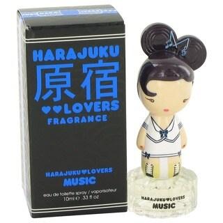 Gwen Stefani Harajuku Lovers Music Women's 0.33-ounce Eau de Toilette Spray