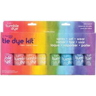 Tumble Dye Craft And Fabric Spray 2 Ounces 8/Pkg-Mixed Colors