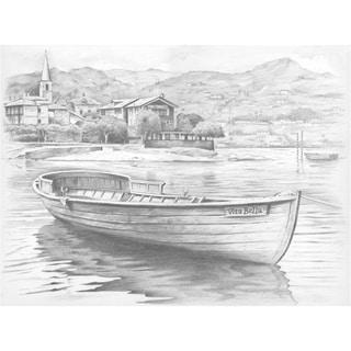 "Sketching By Number Kit 11-1/2""X15-1/2""-Vita Bell"