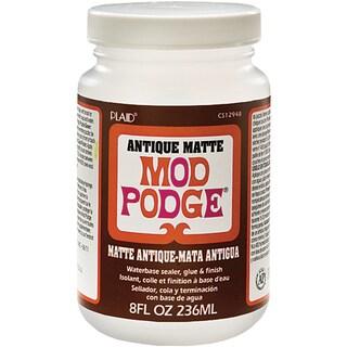 Plaid Mod Podge Antique Matte 8-ounce Non-toxic Versatile Adhesive