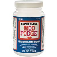 Plaid Mod Podge Super Thick Gloss 8 Ounce Verstaile Adhesive