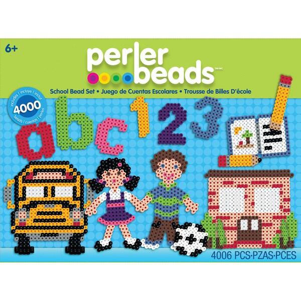 Perler Fun Fusion Fuse Bead Value Activity Kit-School