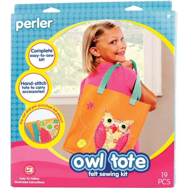 Tote Sew & Stuff Kit-Owl
