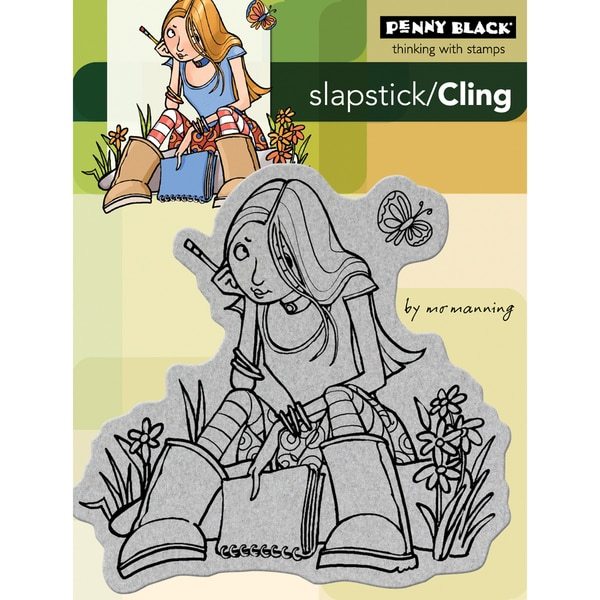 Penny Black '...With Journal' Cling Rubber Stamp