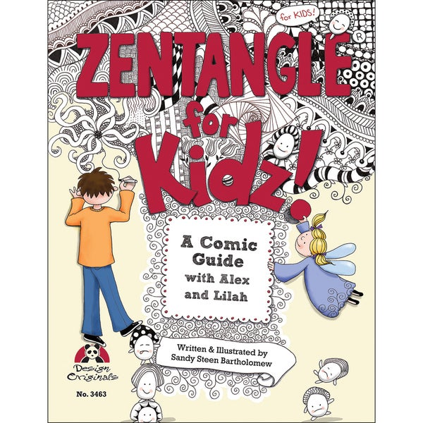 Design Originals-Zentangle For Kidz
