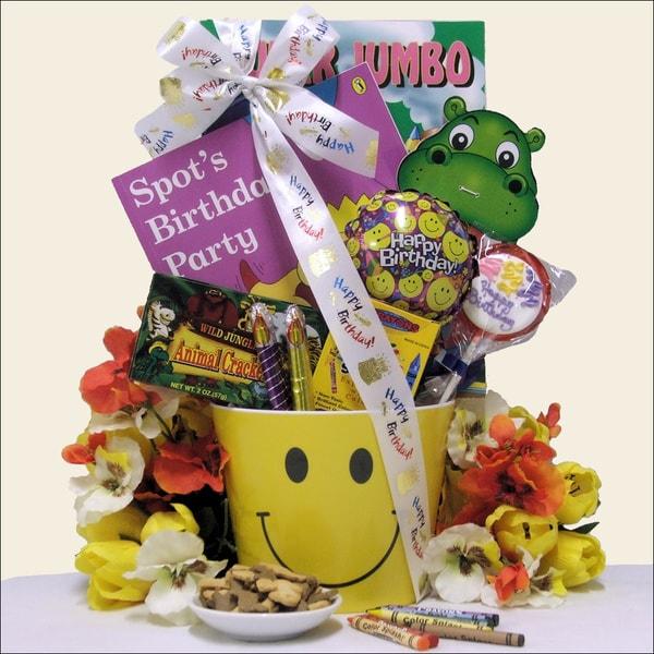 Great Arrivals Smiles Kid's Happy Birthday Gift Basket