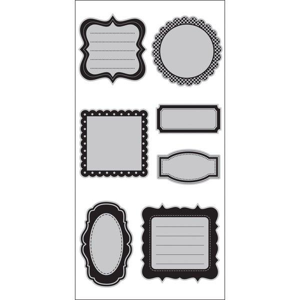 """Doodlebug 4""""X9"""" Cling Stamp-Journal Shapes"""