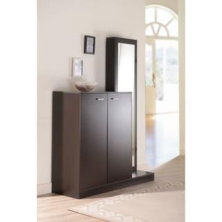 Furniture of America Macey Multi-functional Shoe Storage Cabinet