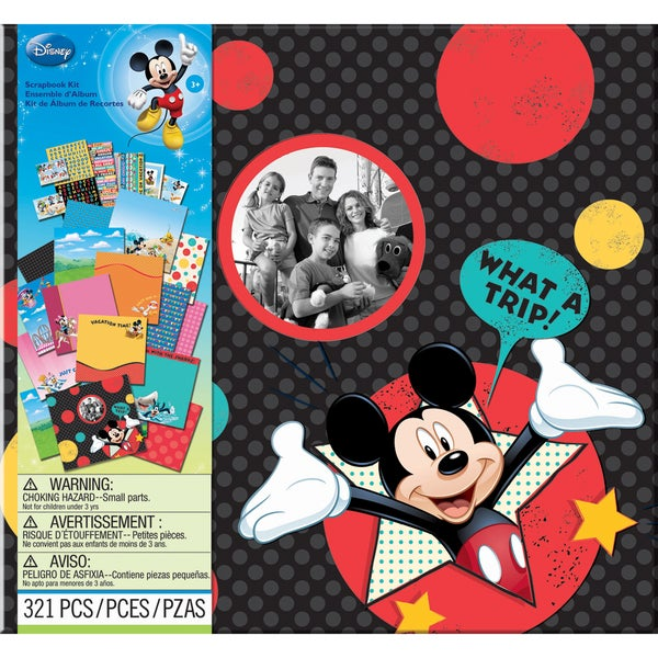 "Disney Vacation Scrapbook Kit 12""X12""-"