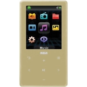 RCA M6408CH 8 GB Champagne Flash Portable Media Player