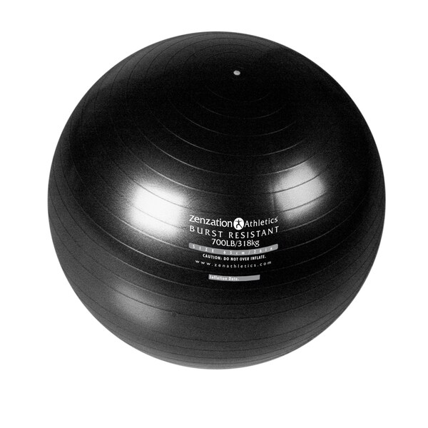 Zenzation 65 cm Exercise Ball Black