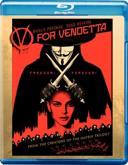 V For Vendetta (Blu-ray Disc)