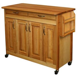 Catskill Craftsman Butcher Block Kitchen Island|https://ak1.ostkcdn.com/images/products/7182876/P14671090.jpg?impolicy=medium