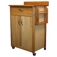 Catskill Craftsman Butcher Block Movable Cart