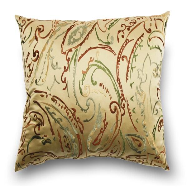 Totera 20-inch Decorative Silk Pillow