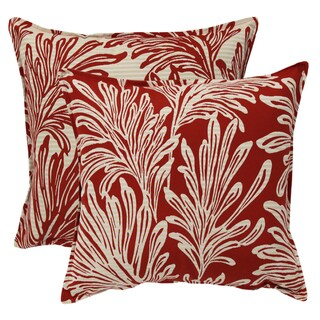 Reversible 20-inch Pillow (Set of 2)
