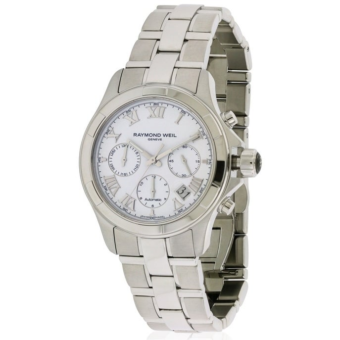 Raymond Weil Men's 'Parsifal' Automatic Chronograph Steel...