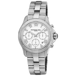 Raymond Weil Men's 'Parsifal' Automatic Chronograph Steel Watch