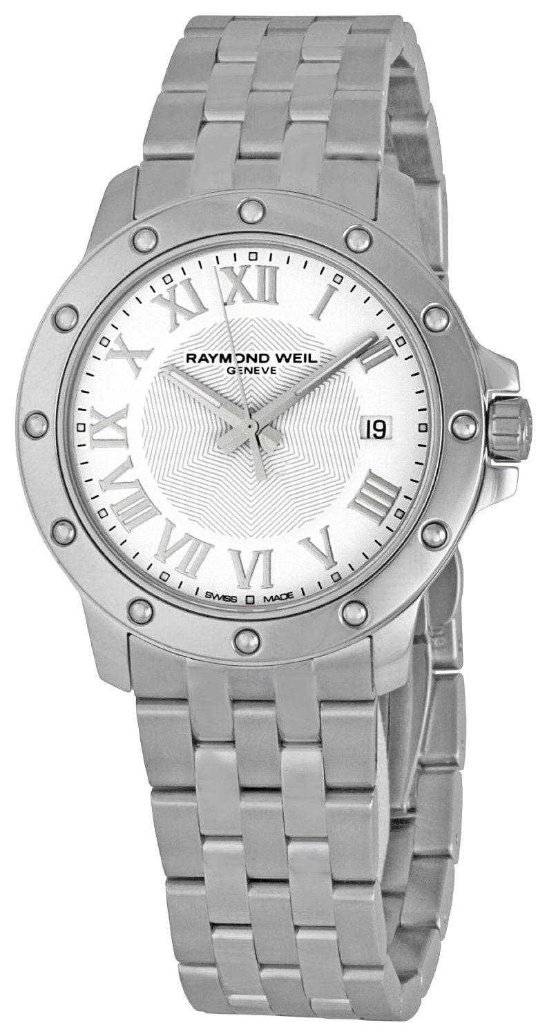 Raymond Weil Men's 'Tango' White Dial Watch