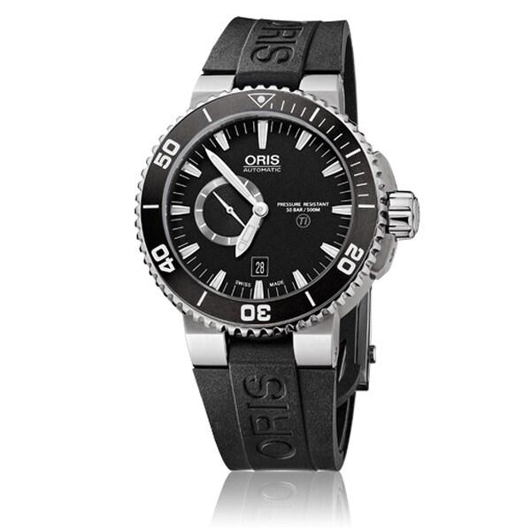 Oris Men's Aquis Titanium Watch