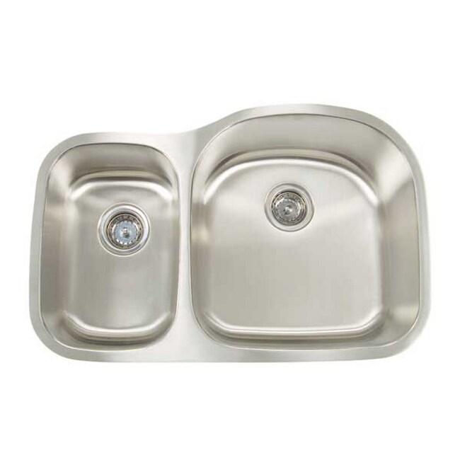 Artisan Premium Series Undermount Shallow/ Deep Double Bowl Kitchen Sink