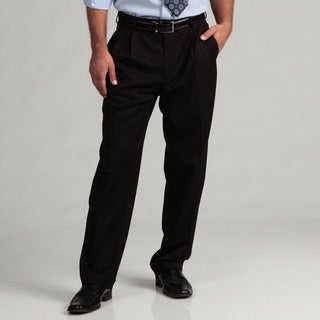 Dockers Men's Black Herringbone Suit Separates Pants