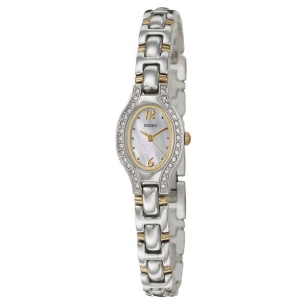 Seiko Women's 'Bracelet' Stainless Steel Gold-plated Watch
