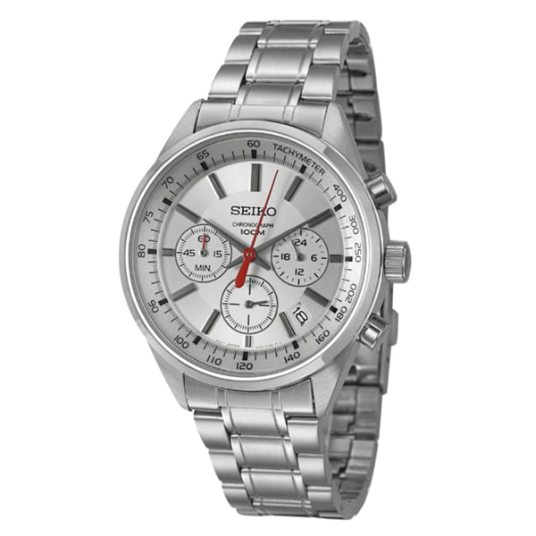 Seiko Men's 'Chronograph' Stainless Steel Watch