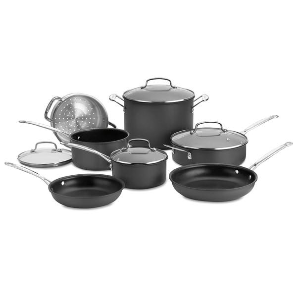Cuisinart Chef's Classic Hard 11-piece Cookware Set