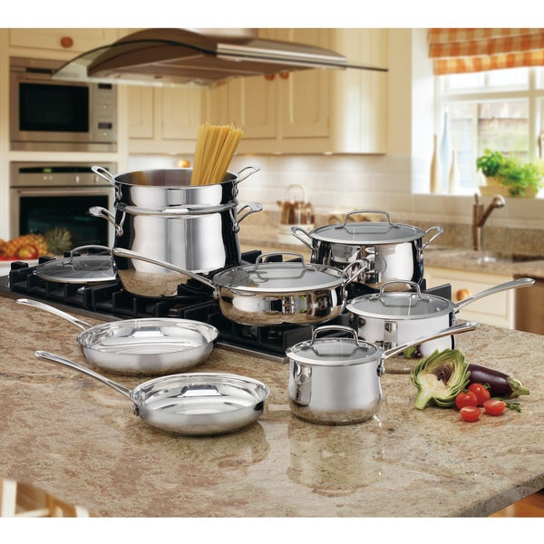 Cuisinart Contour Stainless 13-piece Cookware Set