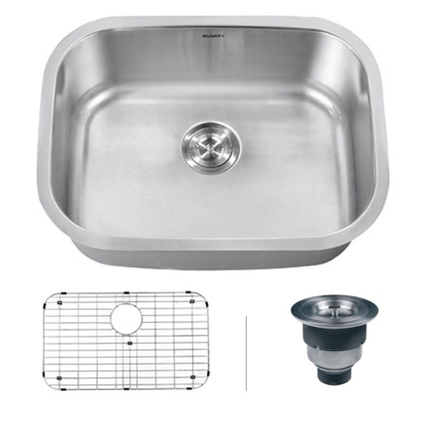 Ruvati Undermount 16 Gauge Single Bowl Kitchen Sink