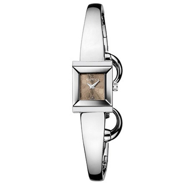 Gucci Women's G-Frame Stainless Steel Watch, Brown, Size ...