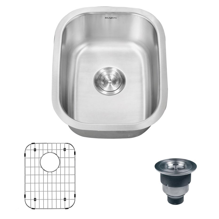 Ruvati Undermount Bar Sink Single Bowl (As Is Item) (RVM4...