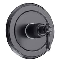 Fontaine Bellver Oil Rubbed Bronze Tub and Shower Control Trim with Valve Set